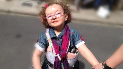 Portrait de Léa, 5 ans - Blog Hop'Toys | Handicap & initiatives: Ils nous inspirent ! | Scoop.it