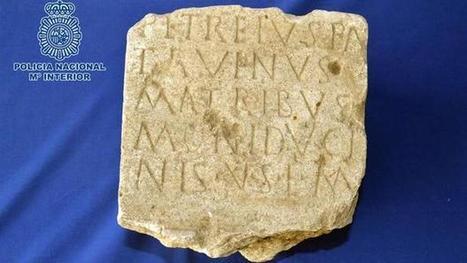 La Policia recupera una pieza arqueológica romana del siglo III puesta a la venta en internet   LVDVS CHIRONIS 3.0   Scoop.it