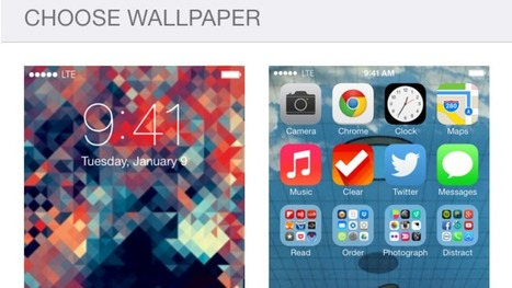 How to Make a Perfect Parallax Wallpaper in iOS 7 | wallpaperspain | Scoop.it
