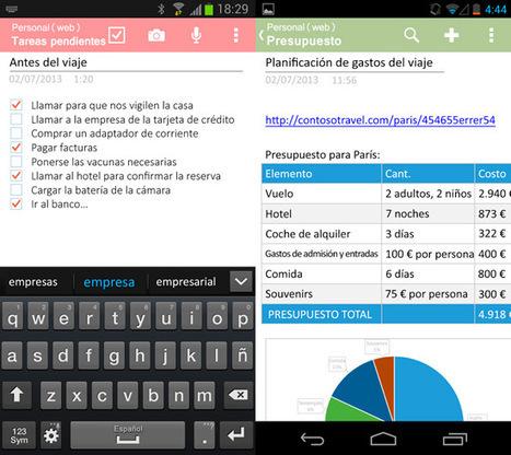 Las mejores aplicaciones Android para organizar las actividades | LAS TIC EN EL COLEGIO | Scoop.it