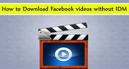 How to Download Facebook videos without IDM | Tuts Point PK | Scoop.it