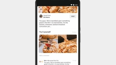 Pinterest Adds 'How-To' Pins Making Recipes Easier to Follow | Pinterest | Scoop.it