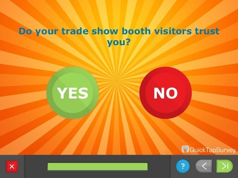 Why Trust Is More Important Than Leads At Trade Shows | Company Online Ordering, Trade shows, Event gifts, Speaker Gifts, Employee recognition programs, Golf and sporting events | Scoop.it