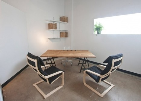 Weld : un espace de coworking design | Déco Bureau | Ideation for innovation | Scoop.it