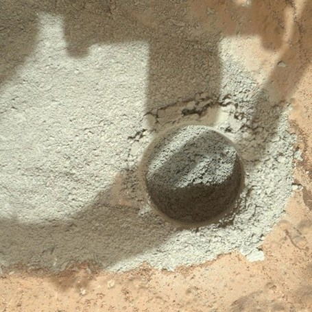 Curiosity rover drills into Mars rock for first time | Geology | Scoop.it