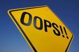 Five Ways to Get Good at Mistake Making | Success Leadership | Scoop.it