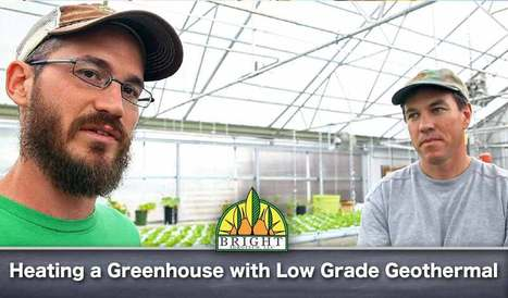 Low Grade Geothermal Heating and Cooling for Greenhouses - VFB | cip publications | Scoop.it