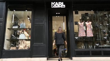 "Le ""luxe digital store"" de K. Lagarfeld | CA Com | Actus Cosmétiques | Scoop.it"