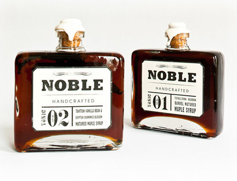 Noble Handcrafted | Creative Package Design | Art, Design & Technology | Scoop.it
