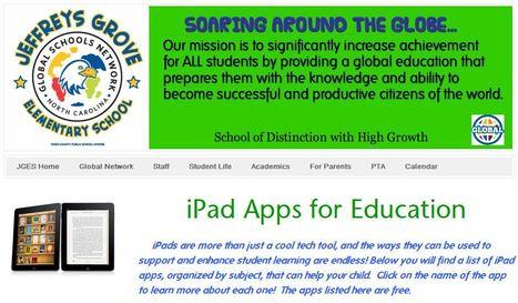 iPad Apps for Education | Educatief Internet - Gespot op 't Web | Scoop.it