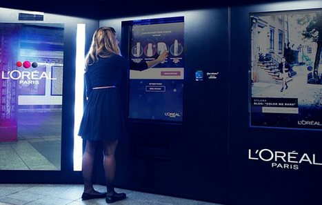 Le distributeur automatique de L'Oréal à New-York | streetmarketing | Scoop.it