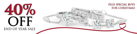 Get 40% off in the End of Year Sale and Extra Special Buys for Christmas from Diamonds International | Diamonds International | Scoop.it