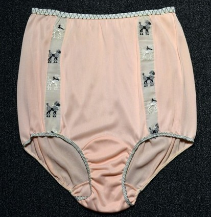 This Week's OMG Vintage Lingerie: 1950s Poodle Panties Edition! | Hosiery & Lingerie | Scoop.it