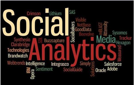 25 Top Social Media Analytics Software - Predictive Analytics Today | Social media culture | Scoop.it