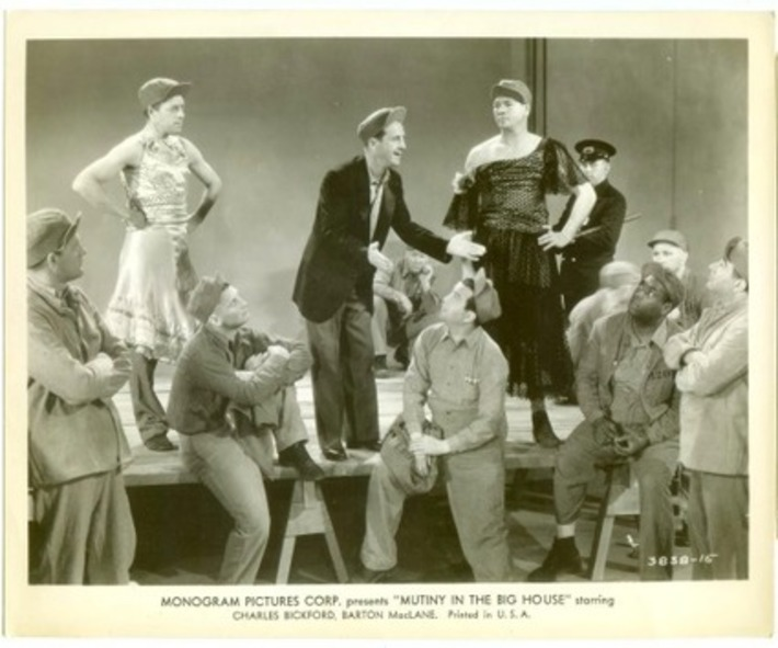 Mutiny In The Big House Monogram Pictures Corp Men In Drag Crossdressing Movie Memorabilia | Antiques & Vintage Collectibles | Scoop.it