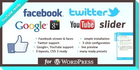 9 Premium Facebook Likebox Plugins for WordPress   Get your PSD's Converted to HTML   Scoop.it