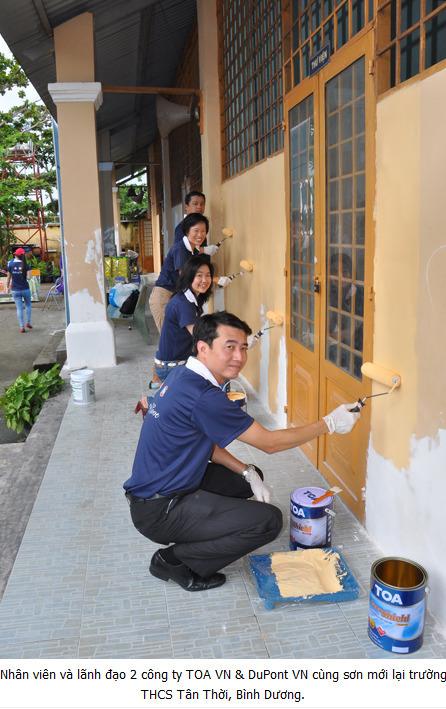 TOA Việt Nam và DuPont Việt Nam chung tay vì cuộc sống tốt đẹp hơn cho cộng đồng | DuPont ASEAN | Scoop.it