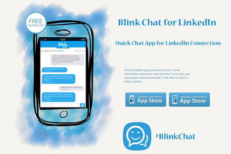 Chat Messenger for LinkedIn | Blink Chat for LinkedIn™ | Scoop.it