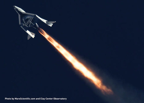 Virgin Galactic Flexes SpaceShipTwo's Unique Feather Mechanism in Second Supersonic Flight | SpaceRef Business | The NewSpace Daily | Scoop.it