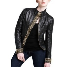 Darris Designer Leather Jackets |Leather Collar with stand collar for Women | zipper leather Jacket for Women | LeatherNXG Online | Scoop.it