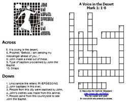 Crosswords and Puzzles - Resources for Christian Educators | Resources for Catholic Faith Education | Scoop.it