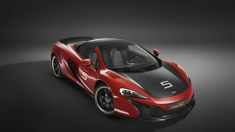 McLaren's $329,000 650S Can-Am still has 'billionaire doors' | Desife | Scoop.it
