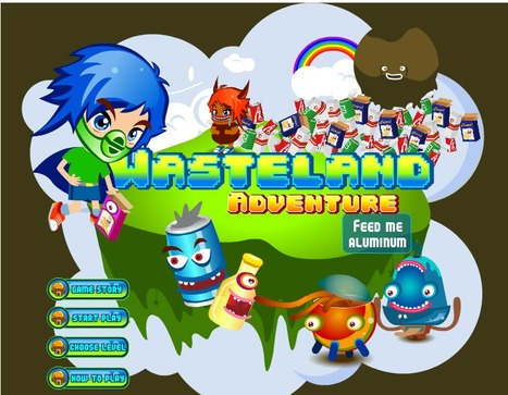 Wasteland Adventure: juego sobre el reciclaje | tecno4 | Scoop.it