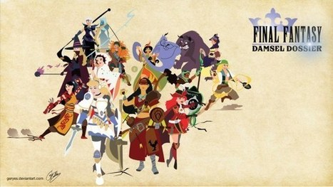 Disney Princesses as Final Fantasy | All Geeks | Scoop.it