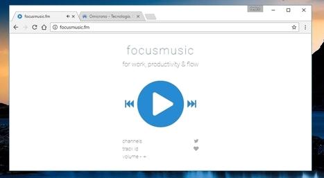 La web perfecta con música para estudiar, trabajar y concentrarse   INTELIGENCIA GLOBAL   Scoop.it