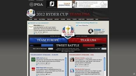 CduSport : Marketing Sportif - Sport Business - Digital Sport: La Ryder Cup 2012 lance la bataille de tweets   Nouvelles du golf   Scoop.it