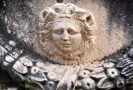 Priceless Roman artifacts displayed in Turkish villager's garden | LVDVS CHIRONIS 3.0 | Scoop.it