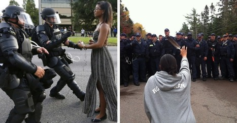 This Black Lives Matter Photo Is Reminding People Of Another Iconic Image | Community Village Daily | Scoop.it