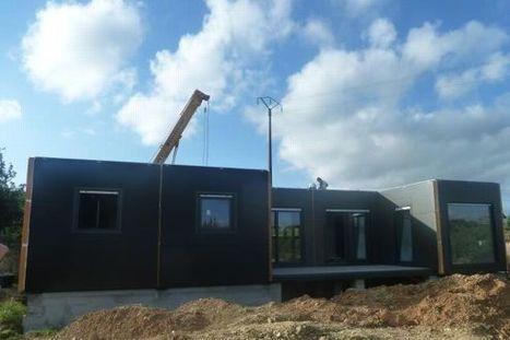 Design et pas chère, la maison container séduit des Français | Immobilier | Scoop.it
