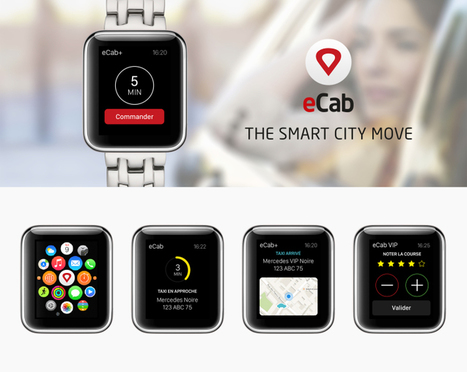 #AppleWatch l 2 cas Apple Watch avec eCab réalisée par Atsukè & Hotel.com | M-CRM & Mobile to store | Scoop.it