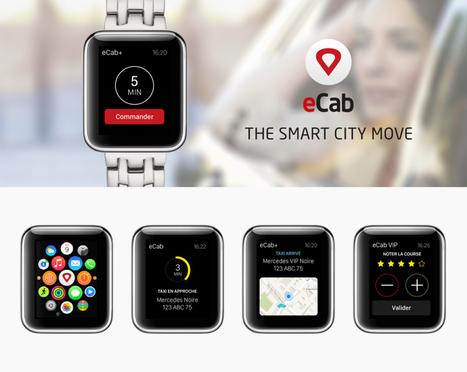 #AppleWatch l 2 cas Apple Watch avec eCab réalisée par Atsukè & Hotel.com | M-CRM & Mobile to store | Scoop.it