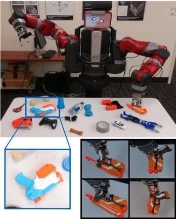 Deep Learning Robot Takes 10 Days to Teach Itself to Grasp - MIT Technology Review | Heron | Scoop.it