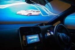 Projection Artworks promotes power of Nissan LEAF with ultimate virtual driving experience   Digital Signage and Digital Out-Of-Home News   Scoop.it