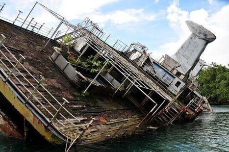12 Shipwrecks Before And After Destruction | DiverSync | Scoop.it