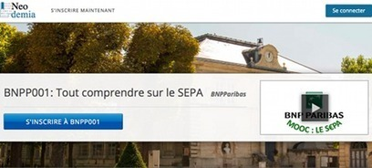 C'est pas mon idée !: BNP Paribas se met au MOOC pour S€PA | Revue de presse du Web | Scoop.it