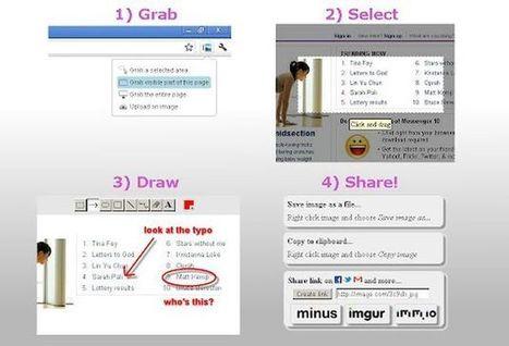 Explica y Envía Capturas de Pantalla: toma, edita y comparte capturas de pantalla (Chrome) | Cajón de sastre Web 2.0 | Scoop.it
