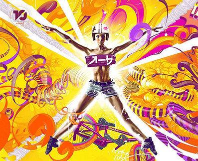 Adhemas Batista, tercer artista digital de la segunda Temporada de la Colección TEN | El Mundo del Diseño Gráfico | Scoop.it