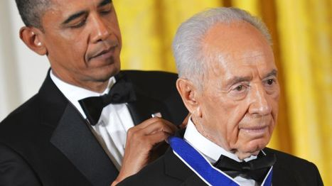 Barack Obama honors Israeli president with Medal of Freedom | The greatest weapon is not a gun. Nor it is nuclear. It is information control | Scoop.it