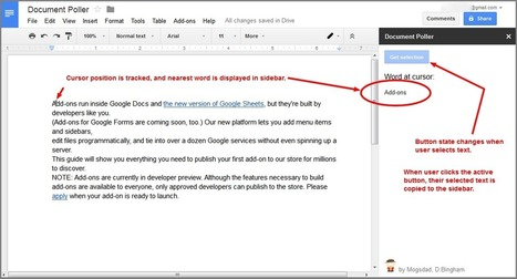 How to poll a Google Doc from an add-on | Google Apps Script | Scoop.it