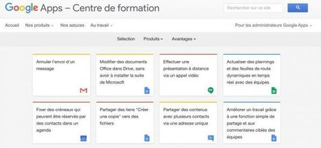 Le centre de formation Google Apps | (FLE) Français langue étrangère et TICE | Scoop.it