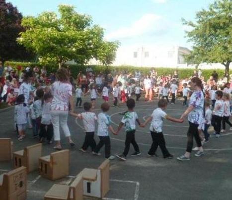 Ronde d'enfants à l'école - la Nouvelle République | A la découverte de Selles sur Cher | Scoop.it