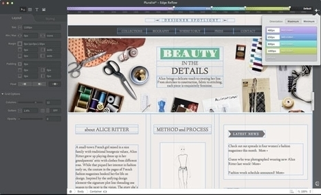 Adobe Releases New HTML5 Edge Reflow For Responsive Web Designers - Forbes | Marketing | Scoop.it