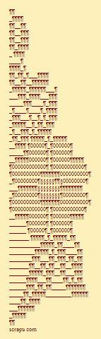 Flower Facebook Ascii Art Flower Text Art 3 | ASCII Art | Scoop.it