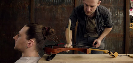 Pour un festival, un violon a été greffé au crâne d'un être humain | Tendances publicitaires et marketing | Scoop.it