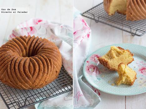 Bundt Cake de nata y vainilla | Qué se #cocina en la red | Scoop.it