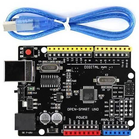 Improved Version of Arduino Board with USB Cable, Driver Chip CH340G, 5V / 3.3V Compatible | Raspberry Pi | Scoop.it